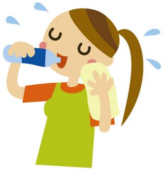 「水分補給 イラスト 無料」の画像検索結果